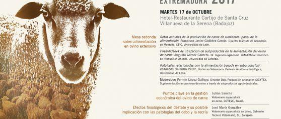 Jornadas diálogos del ovino Extremadura 2017